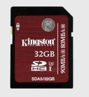 Atminties kortelė Kingston Professional SDHC 32GB UHS-I U3, 90/80Mbs Paveikslėlis 1 iš 1 250255122780