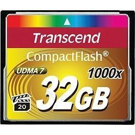 Atminties kortelė Transcend CF 32GB, 1000x Paveikslėlis 1 iš 1 250255122241