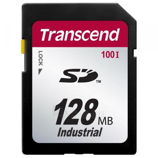 Atminties kortelė Transcend Industrial SDHC 128MB CL6 Paveikslėlis 1 iš 1 310820039444