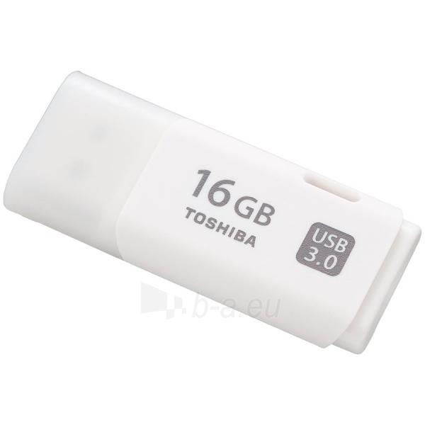 Atmintinė 16GB USB 3.0 TOSHIBA U301 WHITE - RETAIL Paveikslėlis 1 iš 1 310820014456