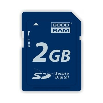 Atmintinė 2GB SD GOODRAM - RETAIL 10 Paveikslėlis 1 iš 1 310820014455