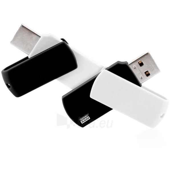 Atmintinė 4GB GOODRAM COLOUR BLACK&WHITE Retail Paveikslėlis 1 iš 1 310820014529
