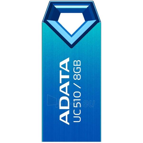 Atmintinė ADATA 8GB USB2.0 (AUC510-8G-RBL) Flash Drive , Blue Paveikslėlis 1 iš 1 310820014542