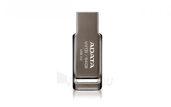 Atmintinė Atmintukas Adata DashDrive™ UV131 64GB USB 3.0 metal Paveikslėlis 1 iš 5 310820044805