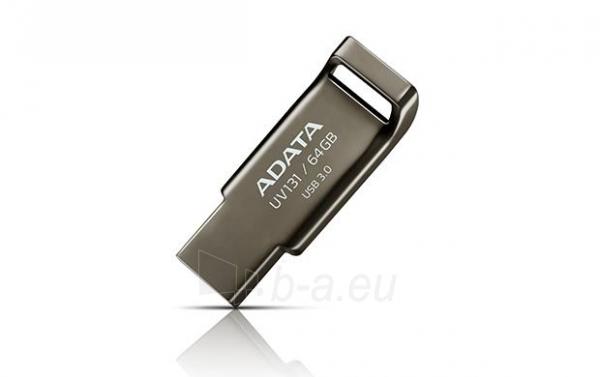 Atmintinė Atmintukas Adata DashDrive™ UV131 64GB USB 3.0 metal Paveikslėlis 3 iš 5 310820044805
