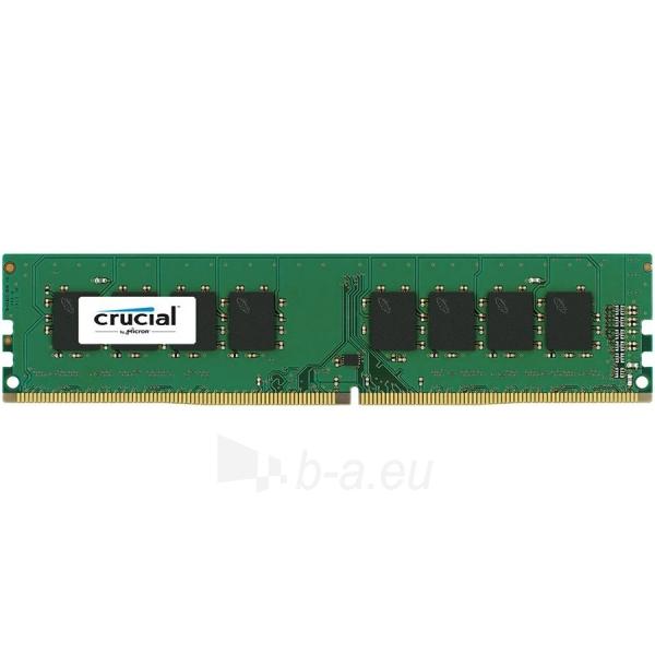 Atmintinė Crucial DRAM 8GB DDR4 2133 MT/s (PC4-17000) CL15 SR x8 Unbuffered DIMM 288pin Single Ranked, EAN: 649528775849 Paveikslėlis 1 iš 1 310820014513