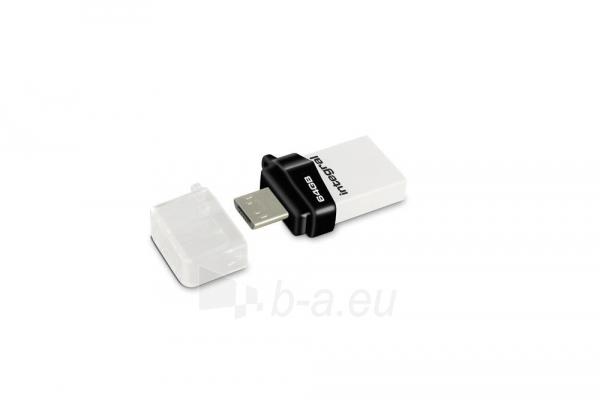 Atmintinė Integral flashdrive MICRO FUSION 64GB USB3.0 Paveikslėlis 2 iš 2 310820045151