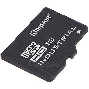 Atmintinė KINGSTON 16GB microSDHC UHS-I Industrial Temp Card Single Pack w/o Adapter Paveikslėlis 1 iš 1 310820023752