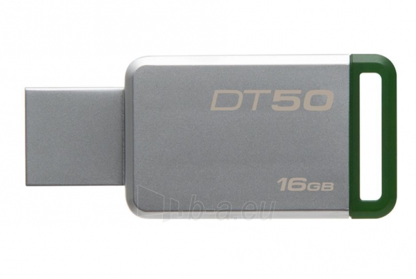 Atmintinė Kingston 16GB USB 3.0 DataTraveler 50 (Metal/Purple) Paveikslėlis 1 iš 1 310820045155