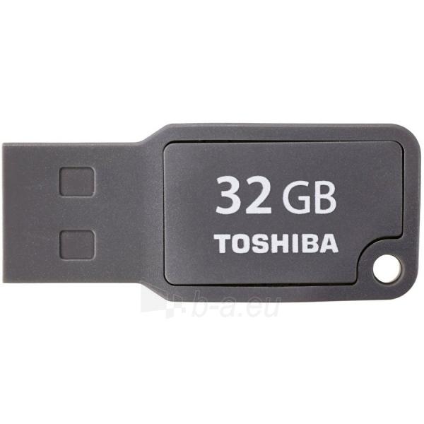 Atmintinė TOSHIBA 32GB USB 2.0 TOSHIBA U201 GRAY - RETAIL Paveikslėlis 1 iš 1 310820014487