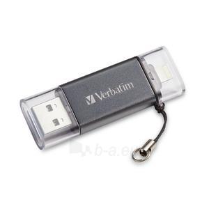 Atmintinė Verbatim USB DRIVE 3.0 LIGHTNING iSTORE n GO 16GB Paveikslėlis 1 iš 6 310820045154