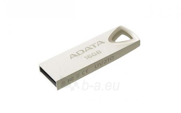 Atmintukas ADATA Dash Drive UV210, 16GB USB 2.0, metal Paveikslėlis 2 iš 4 310820039447