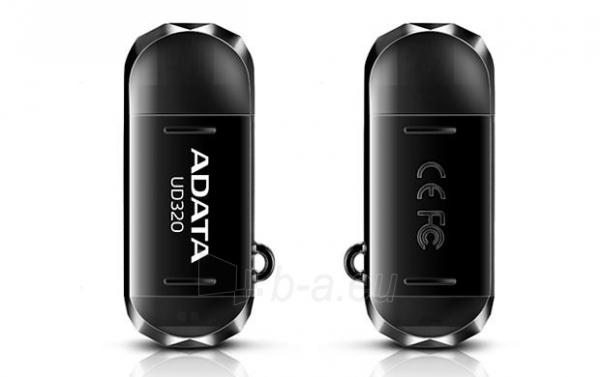 Atmintukas Adata Durable UD320 16GB USB 2.0, USB  micro USB, Juodas Paveikslėlis 3 iš 3 250255122676