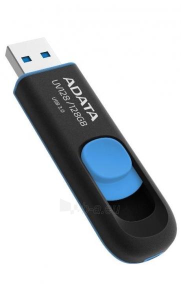 Atmintukas Adata UV128 128GB USB3, Be dangtelio, Ištraukiamas, Juodai mėlynas Paveikslėlis 1 iš 1 250255123220