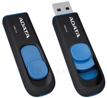 Atmintukas Adata UV128 16GB USB3, Be dangtelio, Ištraukiamas, Juodai mėlynas Paveikslėlis 2 iš 2 250255122840
