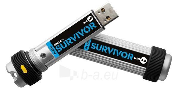 Atmintukas Corsair Survivor 64GB USB 3.0, atsp. smūgiams ir vandeniui Paveikslėlis 2 iš 2 250255123439