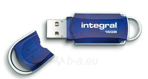 Atmintukas Integral Courier 16GB USB3, 80/20MBs Paveikslėlis 1 iš 1 250255122687