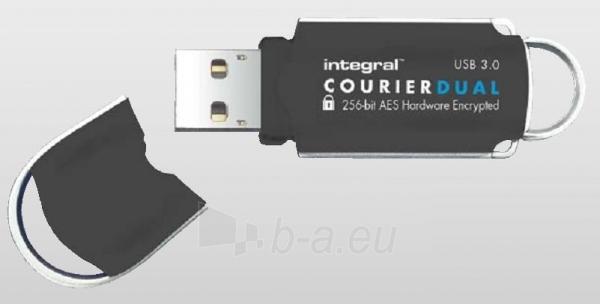 Atmintukas Integral Courier Dual 16GB USB3.0 FIPS 197 AES 256-bit enryption Paveikslėlis 1 iš 1 250255122693
