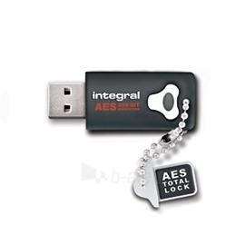 Atmintukas Integral Crypto 16GB, Aparatinis šifravimas AES 256 bit, FIPS 197 Paveikslėlis 1 iš 1 250255122696
