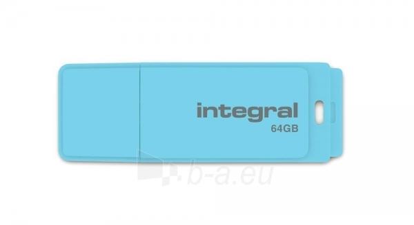 Atmintukas Integral Pastel 64GB, Blue Sky Paveikslėlis 1 iš 1 250255123014