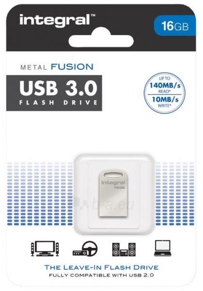 Atmintukas Integral USB metal Fusion 16GB Paveikslėlis 1 iš 1 250255122794