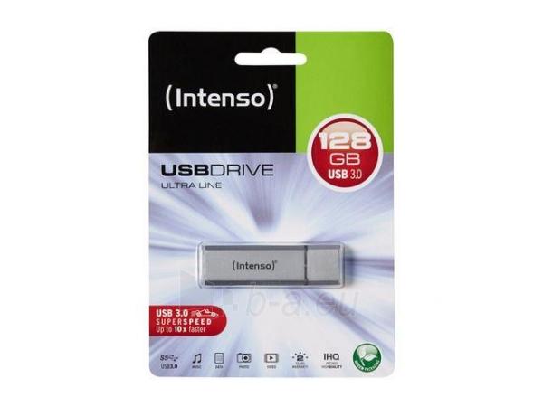 Atmintukas Intenso USB ULTRA LINE 128GB USB 3.0 Paveikslėlis 1 iš 2 250255123152