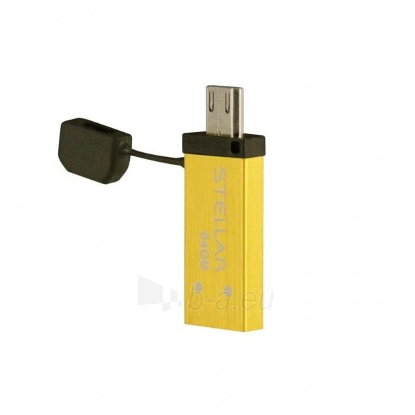 Atmintukas Patriot  Stellar 64GB, USB3.0, Geltonas Paveikslėlis 1 iš 1 250255123158