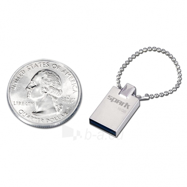Atmintukas Patriot Spark 16GB, USB3.0, Metalinis Paveikslėlis 1 iš 1 250255123511