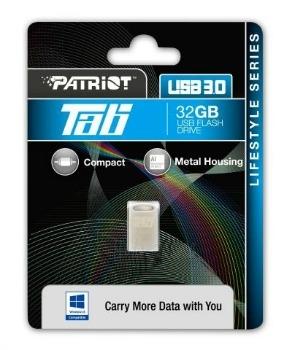 Atmintukas Patriot Tab 32GB, USB3.0 Paveikslėlis 1 iš 2 250255123515