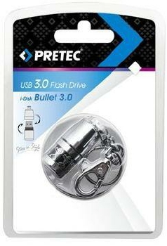 Atmintukas Pretec i-Disk BulletProof Extreme, USB3.0, 32GB, Sparta 70/40MBs Paveikslėlis 3 iš 3 250255122826