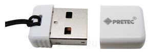 Atmintukas Pretec i-Disk Poco USB2.0 - 16GB Balta Paveikslėlis 1 iš 6 250255122827