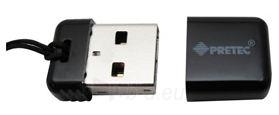 Atmintukas Pretec i-Disk Poco USB2.0 - 16GB Juodas Paveikslėlis 1 iš 6 250255122828