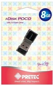 Atmintukas Pretec i-Disk Poco USB2.0 - 16GB Juodas Paveikslėlis 3 iš 6 250255122828