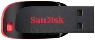 Atmintukas SanDisk Cruzer Blade 32GB, Sparta iki 18MBs, Juodai raudonas Paveikslėlis 2 iš 3 250255122834