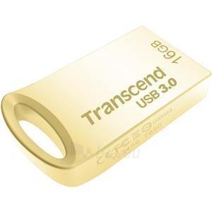 Atmintukas Transcend JetFlash 710, 16GB, Gold Plating Paveikslėlis 1 iš 2 310820044409