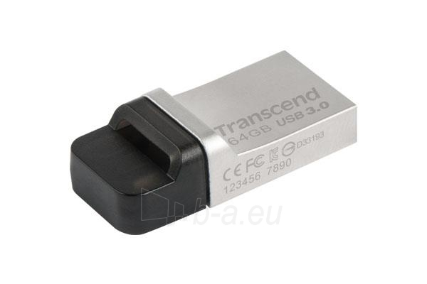 Atmintukas Transcend Jetflash 880 64GB USB 3.0 Paveikslėlis 1 iš 3 250255123165