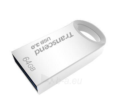 Atmintukas Transcend JF 710s 64GB USB3.0 Atsparus vandeniui, smūgiams,Metal-sid. Paveikslėlis 1 iš 3 250255123166
