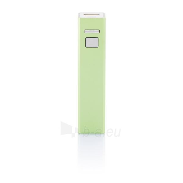 Atsarginė baterija įkrauti mobiliems prietaisams (šviesiai žalias) Paveikslėlis 1 iš 3 310820012688