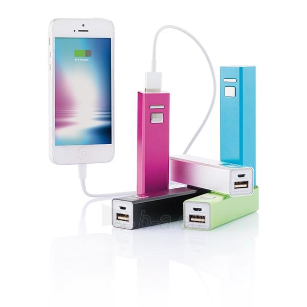 Atsarginė baterija įkrauti mobiliems prietaisams (šviesiai žalias) Paveikslėlis 3 iš 3 310820012688