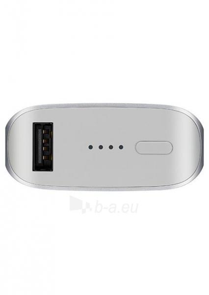 Atsarginė baterija Samsung Power Bank 5100mAh (Silver) Paveikslėlis 1 iš 3 310820014519