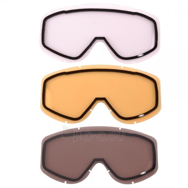 Atsarginiai stiklai sliinėjimo akiniams WORKER Hiro Paveikslėlis 1 iš 4 250520802088