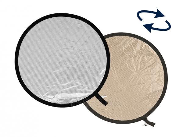 Atšvaitas Lastolite Sunlite/Soft Silver ~120cm Paveikslėlis 1 iš 1 30025600976