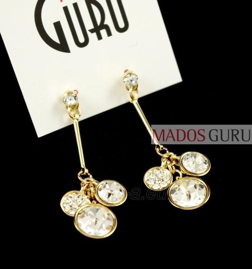 Gold -colored earrings ''Vanessa'' A2064 Paveikslėlis 1 iš 1 30070000311