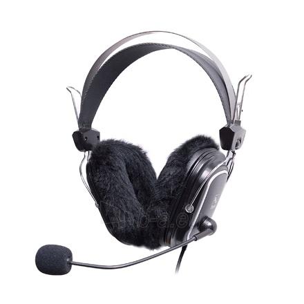 Ausinės A4Tech HS-60 HEADPHONE BLACK Paveikslėlis 1 iš 6 310820001118
