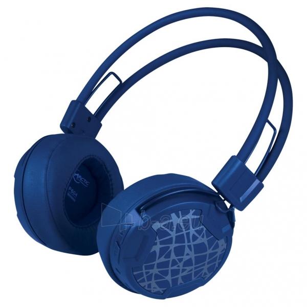 Ausinės Arctic ultra-lightweight headphones P604, wireless, bluetooth 4.0, blue Paveikslėlis 1 iš 4 310820001795