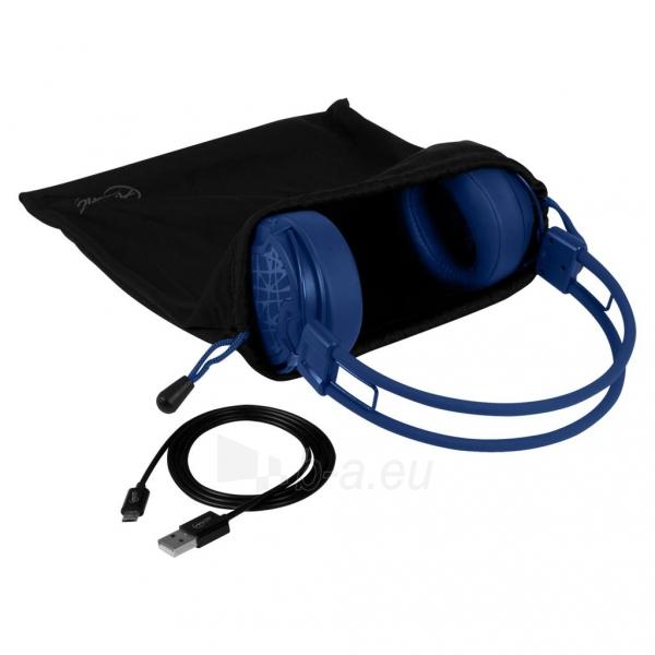 Ausinės Arctic ultra-lightweight headphones P604, wireless, bluetooth 4.0, blue Paveikslėlis 3 iš 4 310820001795