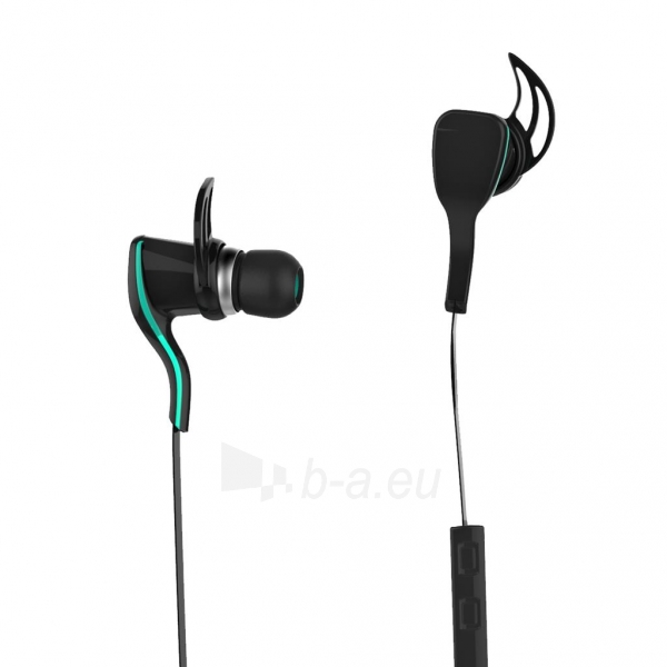 ART Bluetooth Headphones with microphone AP-B22 black sport Paveikslėlis 1 iš 6 250255091101