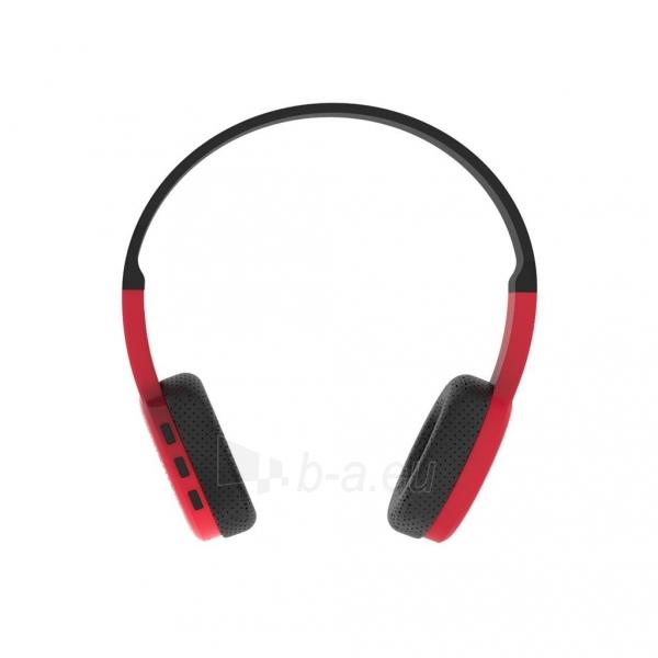 Ausinės ART Bluetooth Headphones with microphone AP-B05 black/red Paveikslėlis 2 iš 5 310820045933