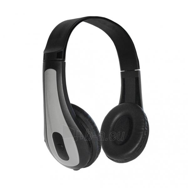 Ausinės ART Bluetooth Headphones with microphone AP-B03 grey Paveikslėlis 1 iš 5 250255091340