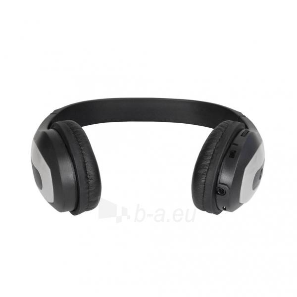 Ausinės ART Bluetooth Headphones with microphone AP-B03 grey Paveikslėlis 2 iš 5 250255091340